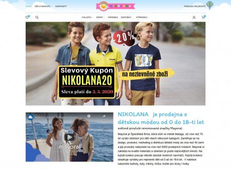 Интернет-магазин детской одежды в Праге