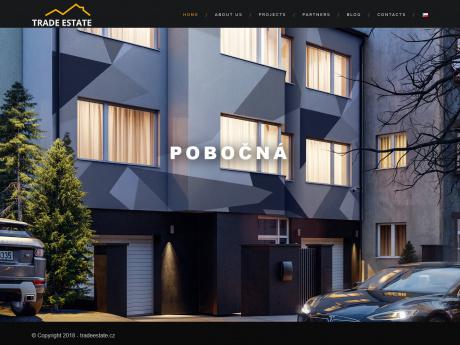 Cайт строительной компании в Праге