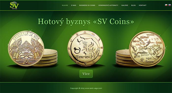 создание сайта для чеканки монет
